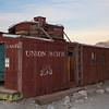 Union Pacific caboose Rhyolite