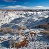 snowy Painted Desert 2