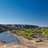 Rio Grande from Caballo Lake Dam