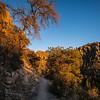 sunset on Ed Riggs Trail Chiricahua 2