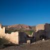 ruin and mesa Rio Grande valley