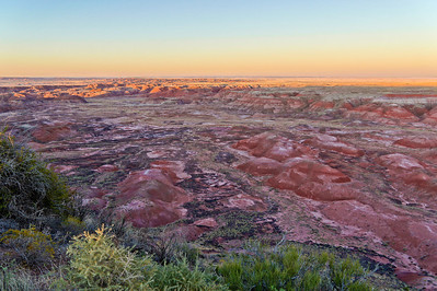 sunset vista Painted Desert