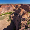 very deep Canyon de Chelly