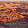 low light over Painted Desert