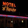 Motel El Rancho sign Gallup NM