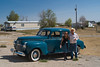1941 Plymouth Special Deluxe with Rebecca & its restorer Interior, SD