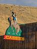 Cassie's cowboy neon sign