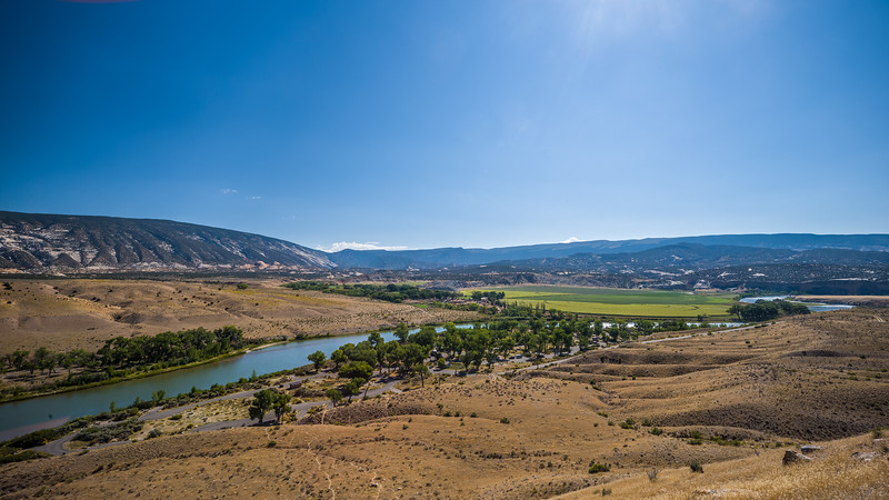 farms around Green River in Dinosaur National Monument