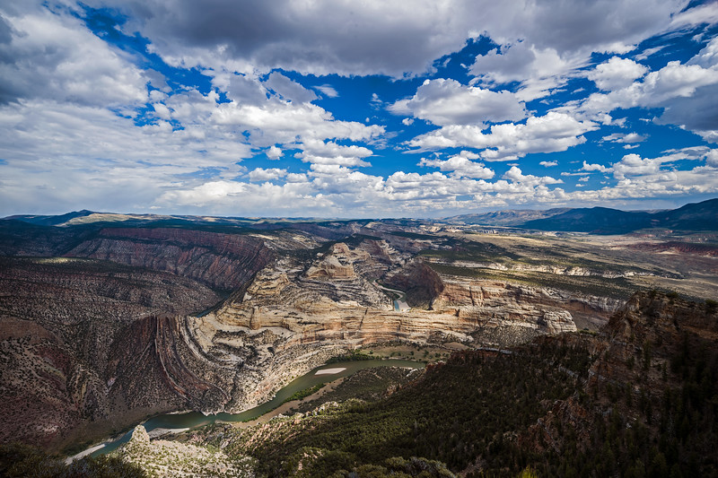 moving clouds Green River Dinosaur Monument