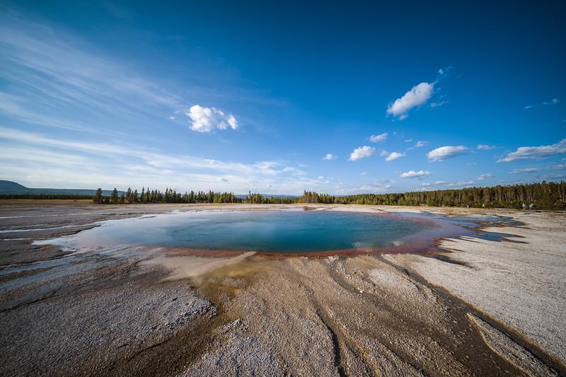 opal pool yellowstone