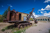 Bucyrus steam shovel used to dig Panama Canal outside Mining Museum Nederland CO