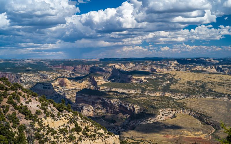 panorama Green River Canyon Dinosaur National Monument CO