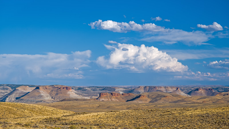Wyoming Badland Hills
