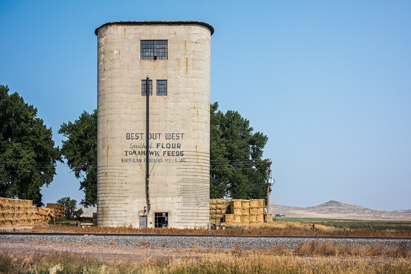 Best Out West Enriched Flour Tomahawk Feeds Sheridan Flouring Mills Inc silo