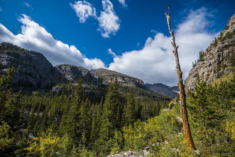Glacier Gorge trail Rocky Mountain National Park