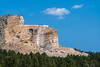 Crazy Horse Monument under construction long view