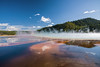 part of Grand Prismatic Spring Yellowstone