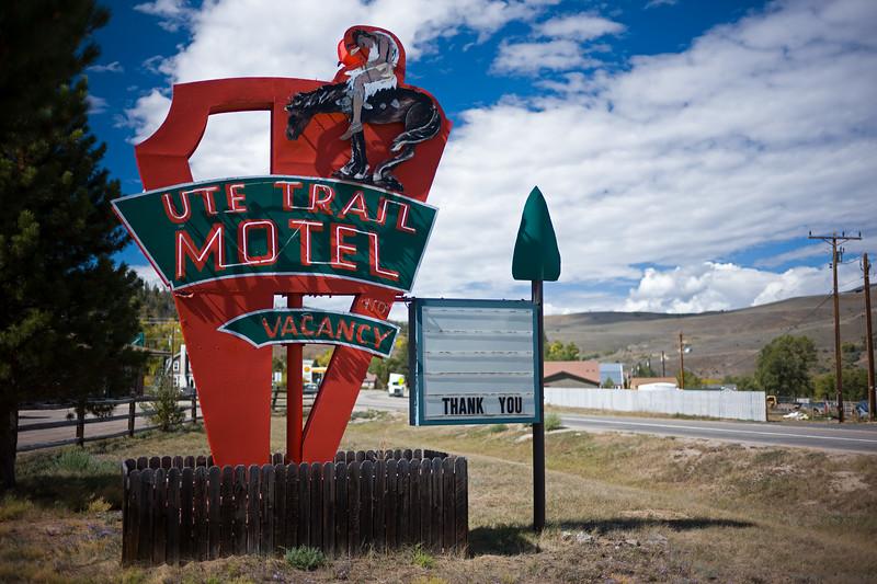 Ute Trail Motel Hot Sulphur Springs CO