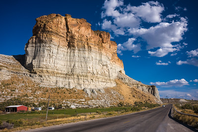 red rock outside Green River WY