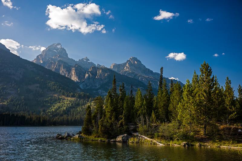 Lake Taggart Grand Teton National Park sharper