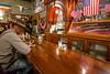 bar patron Irma Hotel Bar Cody Wyoming