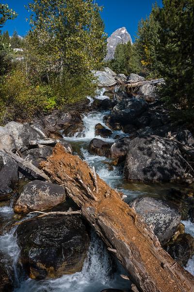 brook Taggart Lake trail Grand Teton National Park
