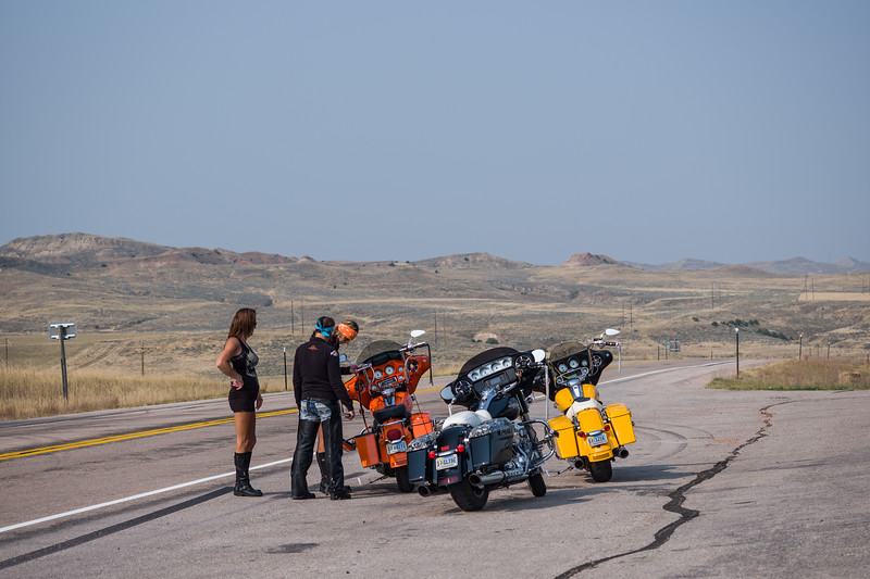 motorcycle mamas Spotted Horse Wyoming