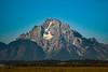 Mount Moran in the Tetons