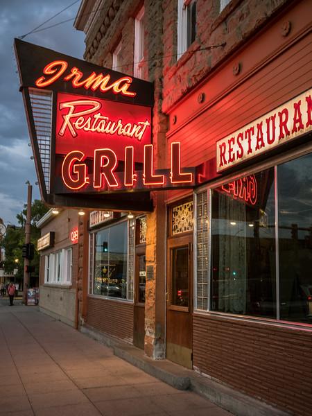 irma restaurant grill cody wyoming