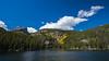 shore of Bear Lake Rocky Mtn Nat Park