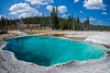 turquoise hole West Thumb Geyser Field Yellowstone