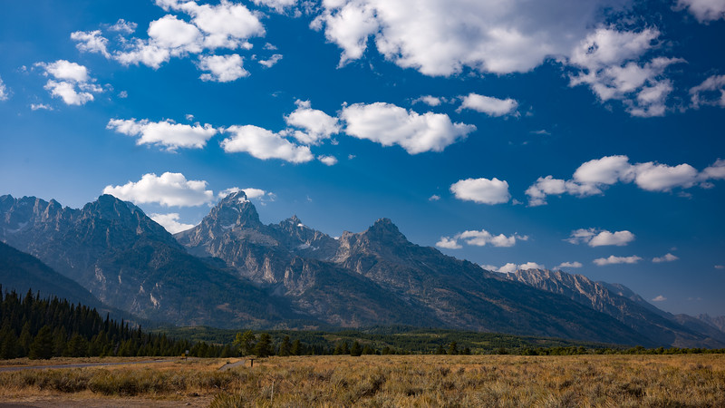 Grand Tetons late afternoon