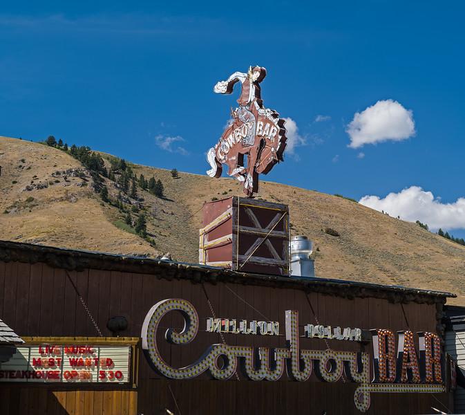 Million Dollar Cowboy Bar Jackson WY