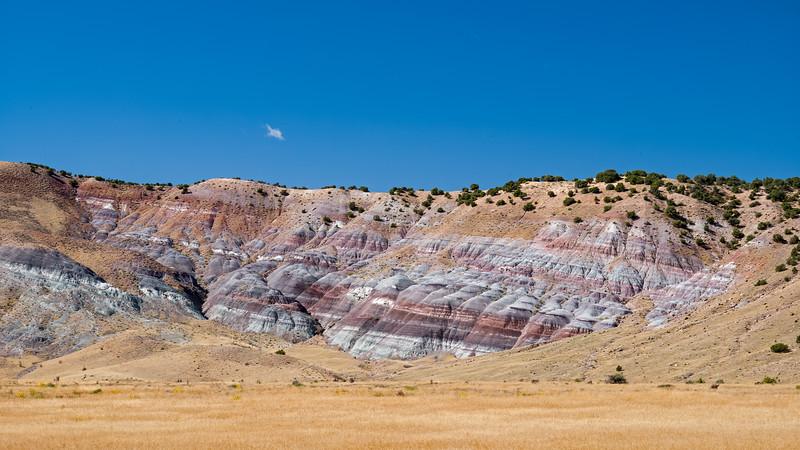 crimson strata Dinosaur National Monument