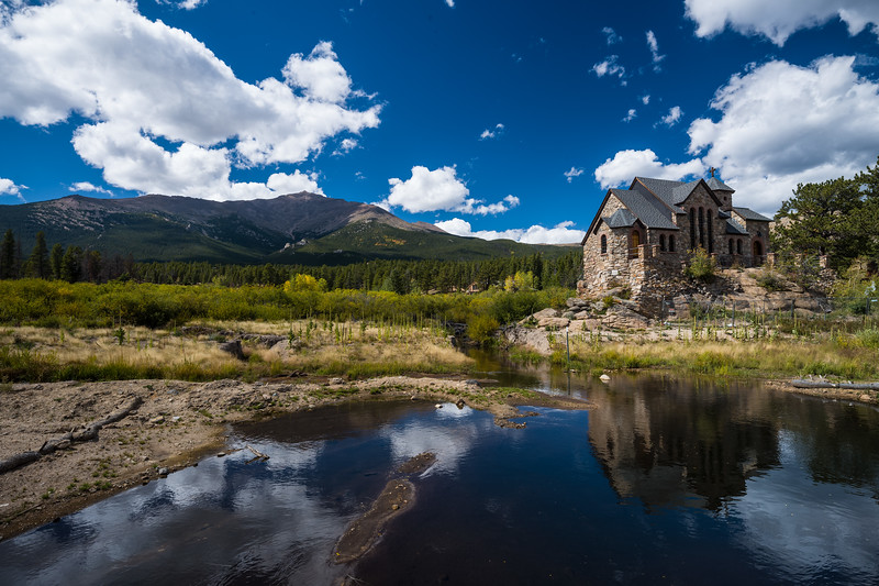 church outside Rocky Mountain National Park