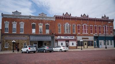 main street Friend Nebraska