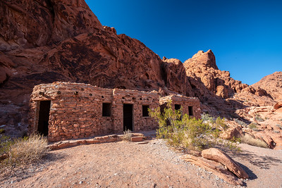 CCC-built The Cabins Valley of Fire