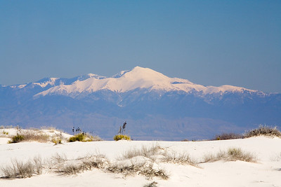 Sierra Blanca from White Sands