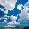 cloudscape over Valles Caldera