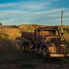 very rusty dumptruck San Ysidro