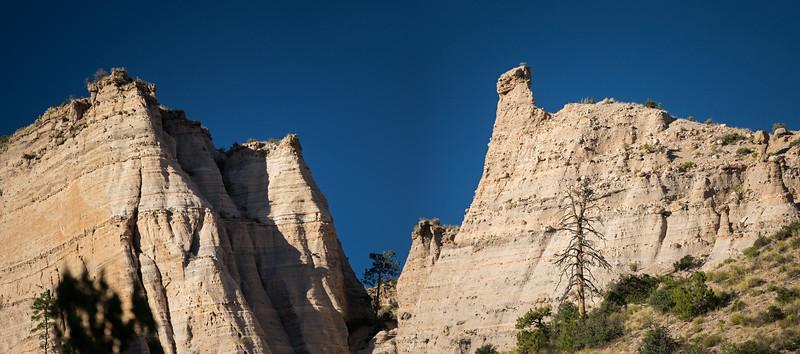 multiple peaks entrance to Kasha-Katuwe National Monument
