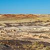 greebles living on desert floor Bisti National Wilderness
