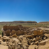 Chaco Culture National Historic Park Panorama from Bonita Pueblo