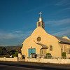 glowing San Ysidro Catholic Church