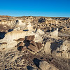 choclate chunks on vanilla fudge Bisti Wilderness