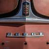 hood badge 1949 Dodge