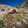 river flowing out of Jemez Springs