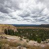 view of desert floor from top of El Morro National Monument