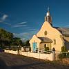 early evening San Ysidro Catholic Church