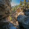 top of Jemez Falls